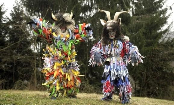 У Словенії стартував головний маскарадний карнавал Центральної Європи