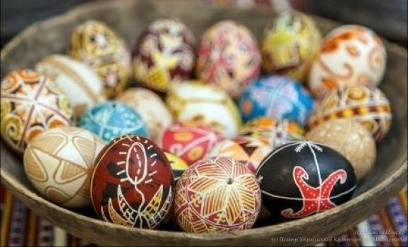 Виставка «Сонячний Великдень-2015» в Центрі Української Культури та Мистецтва (Київ)