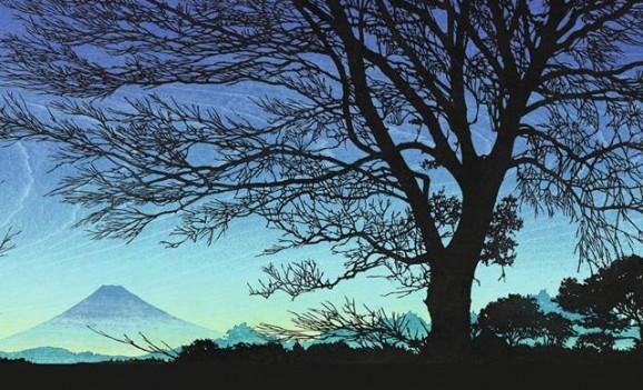 Виставка сучасних японських гравюр майстра Цудзен Накаджіма