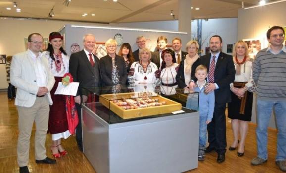 Виставку української писанки відкрили у Німеччині