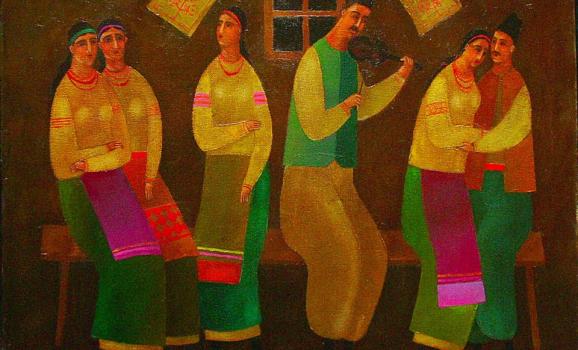 Виставка живопису Олексія Потапенка «Українська містерія»