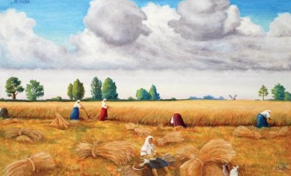 Виставка живопису Віктора Лободи «Не забувай свою рідну Україну!»