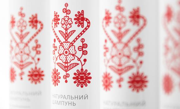 Юрко Гуцуляк створив упаковку для косметики на основі мотиву дерева життя