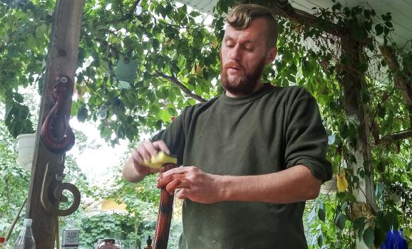 Реабілітація сталлю: як ветеран АТО повернувся до мирного життя