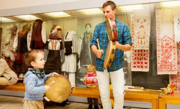 Дитяча школа традиції «ОРЕЛІ», яка діє в музеї Івана Гончара у Києві, запрошує на навчання