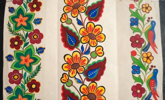 Декоративний розпис школи Макара Мухи презентували у Черкасах