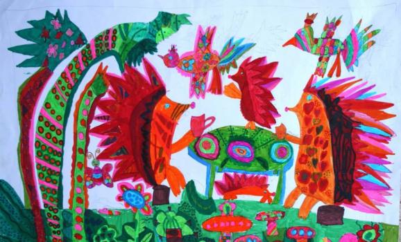 Дітей запрошують на безкоштовні заняття з малювання, витинанки та вириванки