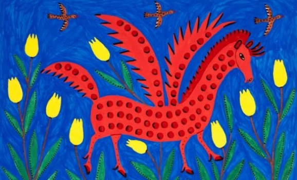 В Києві відкрилася наймасштабніша виставка Марії Примаченко