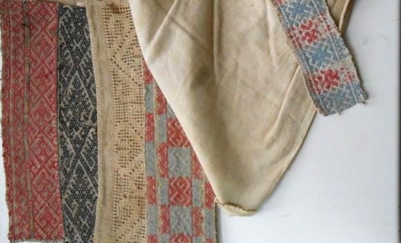 Зразки вишивок з колекції Дмитра Яворницького експонують у Мелітополі