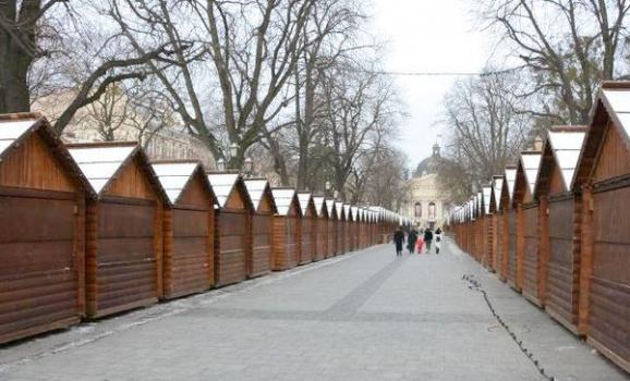 10 грудня відбудеться відкриття Різдвяного ярмарку у Львові