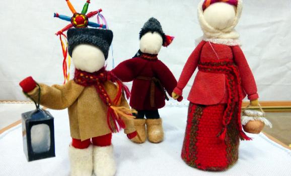 Всеукраїнська виставка декоративно-ужиткового мистецтва «Різдвяна казка» у Дніпровському Будинку мистецтв