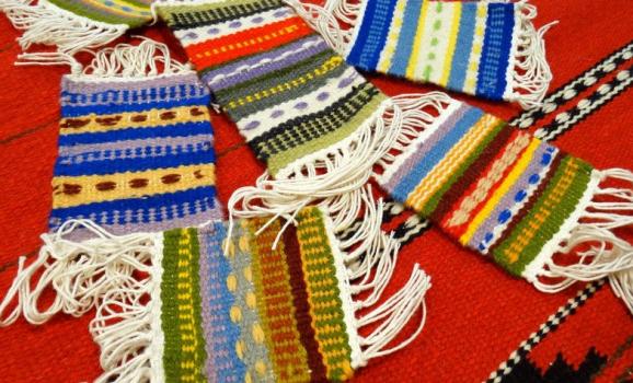 Майстер-клас з ткацтва на настільних ткацьких верстатах