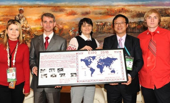 Due to its national art Ukraine has become known in China