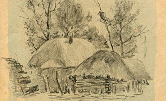 Графіка, акварель, скульптура Івана Гончара