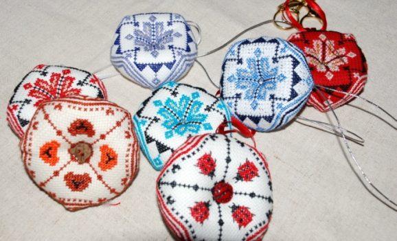 Виставка вишиваних виробів в Чернігові