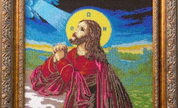Виставка вишитих бісером ікон Романа Магоцького