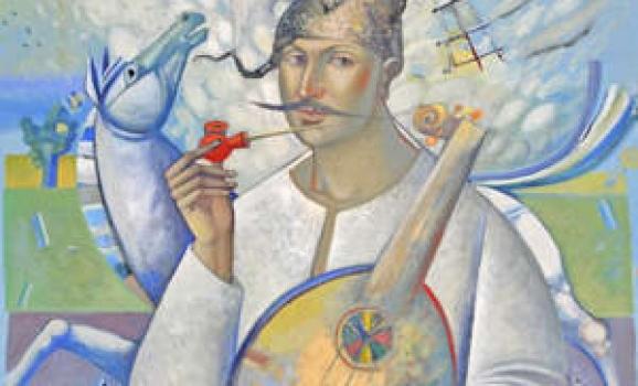 Львівський митець Орест Скоп повезе до Сполучених Штатів Мамаїв