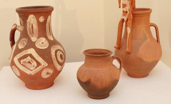 Виставка керамічних творів Сергія Радька відкрилась у Києві