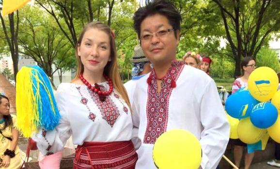 У японському місті Наґоя вперше відбувся парад у вишиванках